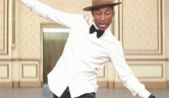 Colleja a la felicidad de Pharrell