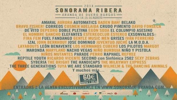 Sonorama Ribera anuncia nuevas confirmaciones