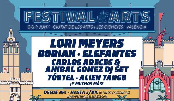 Lori Meyers, nueva confirmación del Festival de les Arts