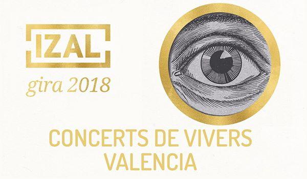 Izal inicia la programación de los Conciertos de Viveros de Valencia