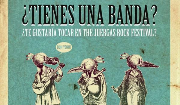 The Juergas Rock Festival lanza su concurso de bandas