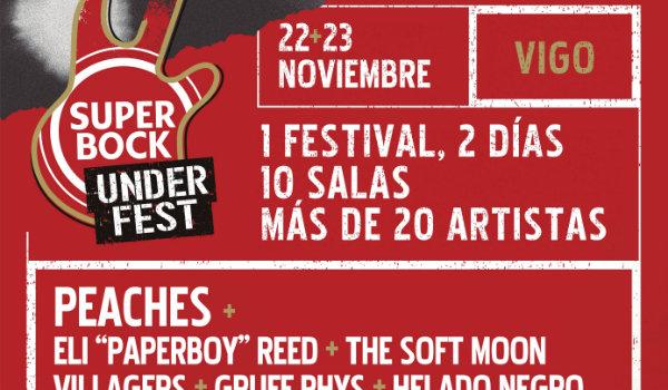 Super Bock Under Fest, cierra cartel y anuncia sus horarios